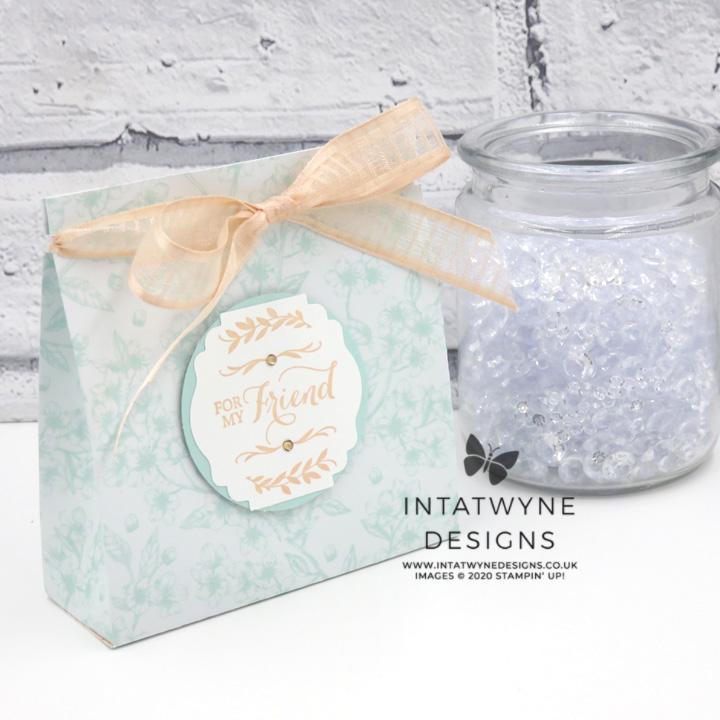 Parisian Blossom Gift Bag Tutorial Intatwyne Designs